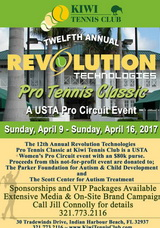 12th Annual Revolution Technologies Pro Tennis Classic