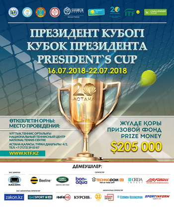 President's Cup ATP Challenger Tour 2018