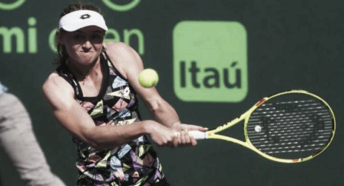 WTA Tour. Miami Open. Александра Саснович обыграла Ализе Корне