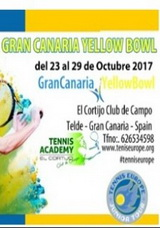Gran Canaria Yellow Bowl 2017