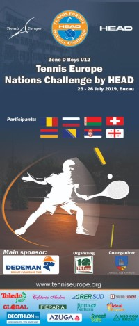Zone D B12 2019 Tennis Europe Nations Challenge by HEAD
