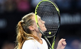WTA Tour. Sydney International. Австралийские горки Саснович