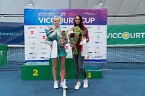 ITF World Junior Tour. Viccourt Cup. Дмитрук и Фалей прервали серию