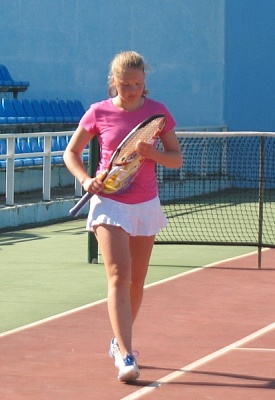 Tennis Europe 14U. KRKA Open. Два финала Дехтеревич.