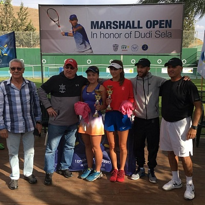 ITF Juniors. Marshall Open in Honour of Dudi Sela 2017. Победа Виктории Канапацкой.