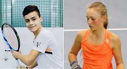 ITF World Junior Tour. Tallink Junior Open. Эрик Арутюнян и Анна Виноградова завоевали по трофею