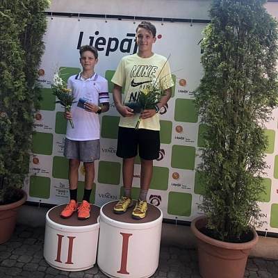 Tennis Europe 14&U. Liepaja International Tournament 2019. Четыре финала.