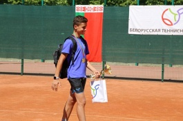 World Tennis Tour Juniors. 2nd Velayat Cup Junior Tournament. Арутюнян не проигрывает