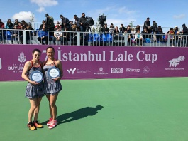 Women's ITF World Tennis Tour. ISTANBUL LALE CUP. #TEAMILORINA