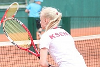 World Tennis Tour Juniors. San Michel ITF Juniors U18. Брич идет дальше
