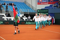 Davis Cup 2018. Group I Europe/Africa. Relegation Round 2. Словакия — Беларусь — 3:1. Матч окончен