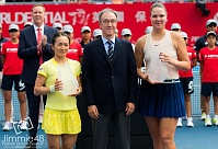 WTA Tour. Prudential Hong Kong Tennis Open. Морозова осталась в статусе финалистки турнира