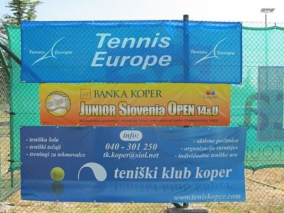 Tennis Europe 14U. Banka Koper Junior Slovenia Open
