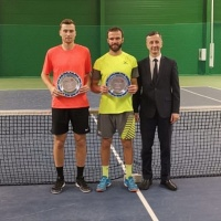Men's ITF World Tennis Tour. Aktobe ITF International Tournament. Лютаревич — победитель!