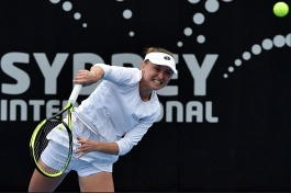 WTA Tour. Sydney International 2019. Саснович уступила в полуфинале.