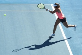 WTA Tour. Hobart International. Лапко в паре
