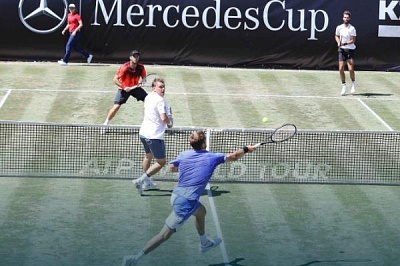 ATP World Tour. Mercedes Cup. Без игры - в полуфинал