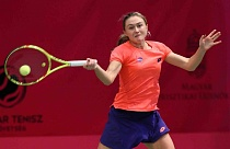 WTA Tour. Hungarian Ladies Open. Александра Саснович вышла в четвертьфинал!