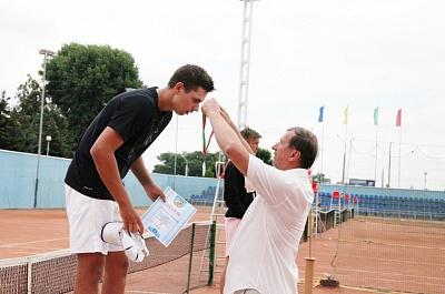ITF World Junior Tour. Shymkent International. Калинин остался финалистом