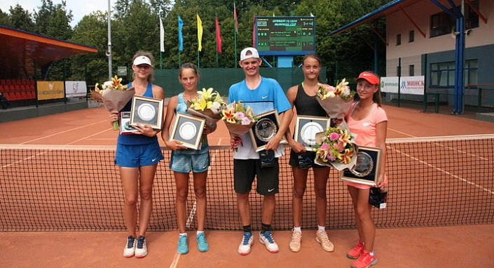 ITF Junior Circuit. Gennadi Petrov Memorial Cup. Скиндер и дуэт Комар — Тихонко стали победителями турнира