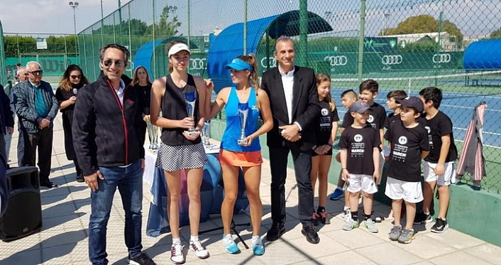 World Tennis Tour Juniors. ITF Famagusta Junior Cup 2019. Яна Колодынска — абсолютная чемпионка!