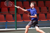 Donetsk City Cup. ITF Juniors. Александр Леоненко - финалист парного разряда