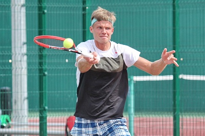 ITF Circuit. 10th Lyttos Beach. Дмитрий Жирмонт не доиграл матч